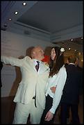 PAUL NEWMAN; OCTAVIA WELBY, Sotheby's Frieze week party. New Bond St. London. 15 October 2014.