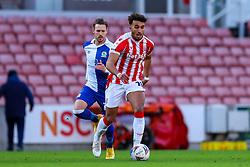 Jacob Brown of Stoke City - Mandatory by-line: Nick Browning/JMP - 19/12/2020 - FOOTBALL - Bet365 Stadium - Stoke-on-Trent, England - Stoke City v Blackburn Rovers - Sky Bet Championship