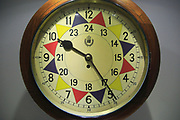 RAF sector clock Lascaris War Rooms underground museum, Valletta, Malta
