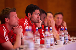 NEWPORT, WALES - Saturday, May 21, 2016: Mikael Arteta during the Football Association of Wales' National Coaches Conference 2016 at the Celtic Manor Resort. (Pic by David Rawcliffe/Propaganda)