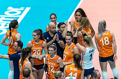 20-10-2018 JPN: Final World Championship Volleyball Women day 18, Yokohama<br /> China - Netherlands 3-0 / Team Netherlands