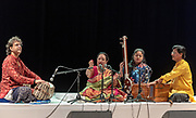 Indian Ethnic folk music during an ethnic festival in Jerusalem, Israel