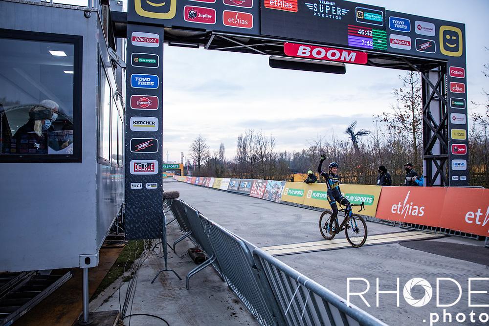 Lucinada Brand (NED/Telenet Baloise Lions) wins the CX Superprestige Boom 2020<br /> Women Elite <br /> <br /> ©RhodeVanElsen