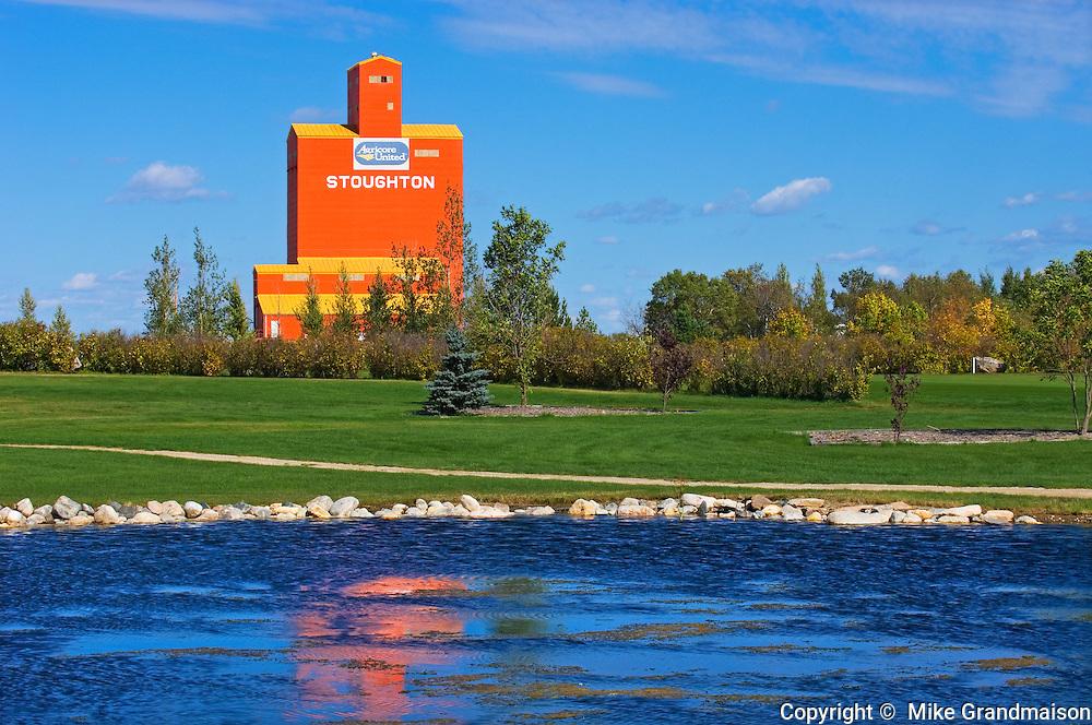 Grain elevator <br /> Stoughton<br /> Saskatchewan<br /> Canada