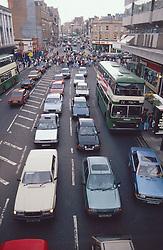 City centre traffic,