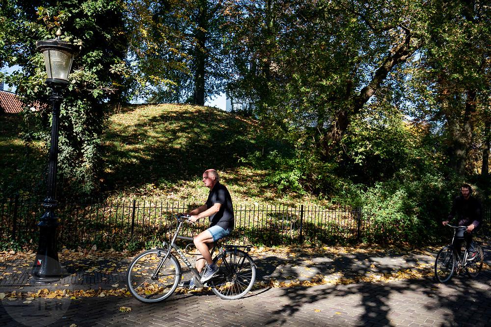 Fietsers in Utrecht.<br /> <br /> Cyclists in Utrecht.