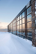 The visitor centre in North Cape (Nordkapp), ofter described as the most northerly point in Europe, in northern Norway