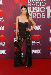 2019 iHeartRadio Music Awards which broadcasted live on FOX at Microsoft Theater on March 14, 2019 in Los Angeles, California. Photo: imageSPACE/MediaPunch. 14 Mar 2019 Pictured: Jessica Szohr. Photo credit: imageSPACE / MEGA TheMegaAgency.com +1 888 505 6342
