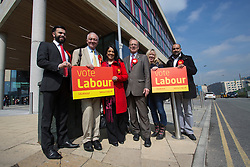 © Licensed to London News Pictures. 29/04/2016. Bradford, UK.FILE PICTURE.  Ken Livingstone canvassing support with Naz Shah in Bradford before the 2015 General Election. Photo credit : Paul Thompson/LNP