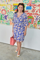 KIRSTY ALLSOPP at a lunch in aid of the charity African Solutions to African Problems (ASAP) held at the Louise T Blouin Foundation, 3 Olaf Street, London W11 on 21st May 2014.