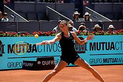 May 5, 2019 - Madrid, Spain - Petra Martic (CRO) in her match against Garbiñe Muguruza (SPA) during day two of the Mutua Madrid Open at La Caja Magica in Madrid on 5th May, 2019. (Credit Image: © Juan Carlos Lucas/NurPhoto via ZUMA Press)