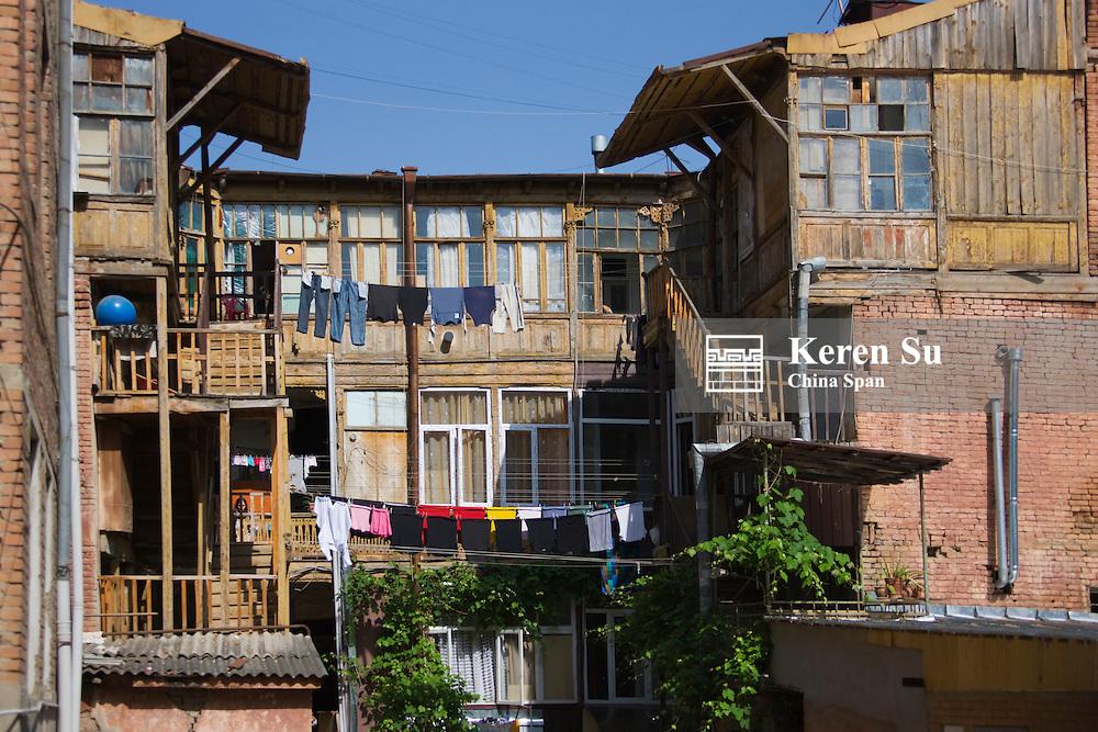 Traditianal house, Tbilisi, Georgia