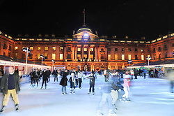 View at a Winter Party given by Tiffany & Co. Europe to launch the 10th season of Somerset House's Ice Skating Rink at Somerset House, The  Strand, London on 16th November 2009.