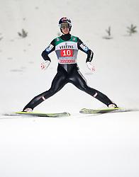 06.01.2015, Paul Ausserleitner Schanze, Bischofshofen, AUT, FIS Ski Sprung Weltcup, 63. Vierschanzentournee, Finale, im Bild Gregor Schlierenzauer (AUT) // Gregor Schlierenzauer of Austria reacts after his first Final Jump of 63rd Four Hills Tournament of FIS Ski Jumping World Cup at the Paul Ausserleitner Schanze, Bischofshofen, Austria on 2015/01/06. EXPA Pictures © 2015, PhotoCredit: EXPA/ Johann Groder