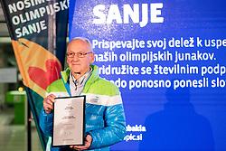 Miro Cerar at Lighting and Handover Ceremonies of the OKS Olympic Flame for PyeongChang 2018, on January 9, 2018 in BTC City, Ljubljana, Slovenia. Photo by Matic Klansek Velej / Sportida
