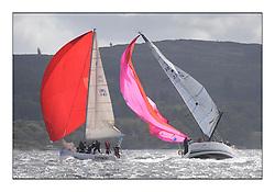 Brewin Dolphin Scottish Series 2011, Tarbert Loch Fyne - Yachting - Day 2 of the 4 day series. Windy!..FRA37296, Salamander Team Sunbird, Chris Dodgshon, Fairlie YC  ..