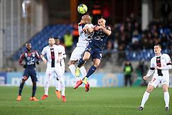 February 17, 2018 - Montpellier, France - 23 Jimmy BRIAND (gui) - 02 Ruben AGUILAR  (Credit Image: © Panoramic via ZUMA Press)