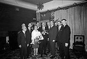 04/01/1969<br /> 01/04/1969<br /> 04 January 1969<br /> Presentations at the Annual ESSO Alexander Road Department Dinner at the Croften Airport Hotel, Dublin.