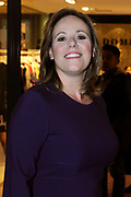 Bridget Maasland lanceert nieuwe kledinglijn Bridget Daily in het World Fashion Centre Amsterdam. <br /> <br /> Op de foto:  Selma van Dijk