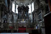 Main altar, Cathedral of Saint Jacob (Sveti Jakova), Sibenik, Croatia. Sometimes also referred to as Cathedral of Saint James.