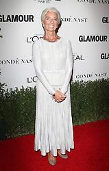 Glamour Celebrates 2016 Women of the Year Awards - Los Angeles.<br /> 14 Nov 2016<br /> Pictured: Christine Lagarde.<br /> Photo credit: Jaxon / MEGA<br /> <br /> TheMegaAgency.com<br /> +1 888 505 6342