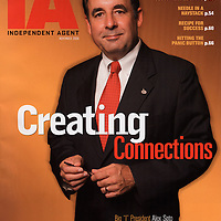 Senior Executive Portrait, magazine cover