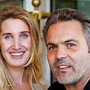 NLD/Amsterdam/20180613 - Hilton Haringparty 2018, Merel Bivoets en Mike Starink