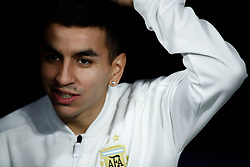 March 22, 2019 - Madrid, MADRID, SPAIN - Angel Correa of Argentina during the international friendly football match played between Argentina and Venezuela at Wanda Metropolitano Stadium in Madrid, Spain, on March 22, 2019. (Credit Image: © AFP7 via ZUMA Wire)