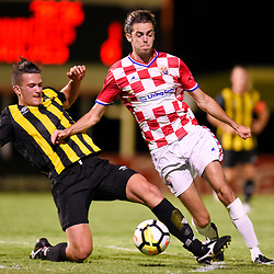 BRISBANE, AUSTRALIA - JANUARY 9:  during the Kappa Silver Boot Group B match between Gold Coast Knights and Wolves FC on January 9, 2018 in Brisbane, Australia. (Photo by Patrick Kearney)
