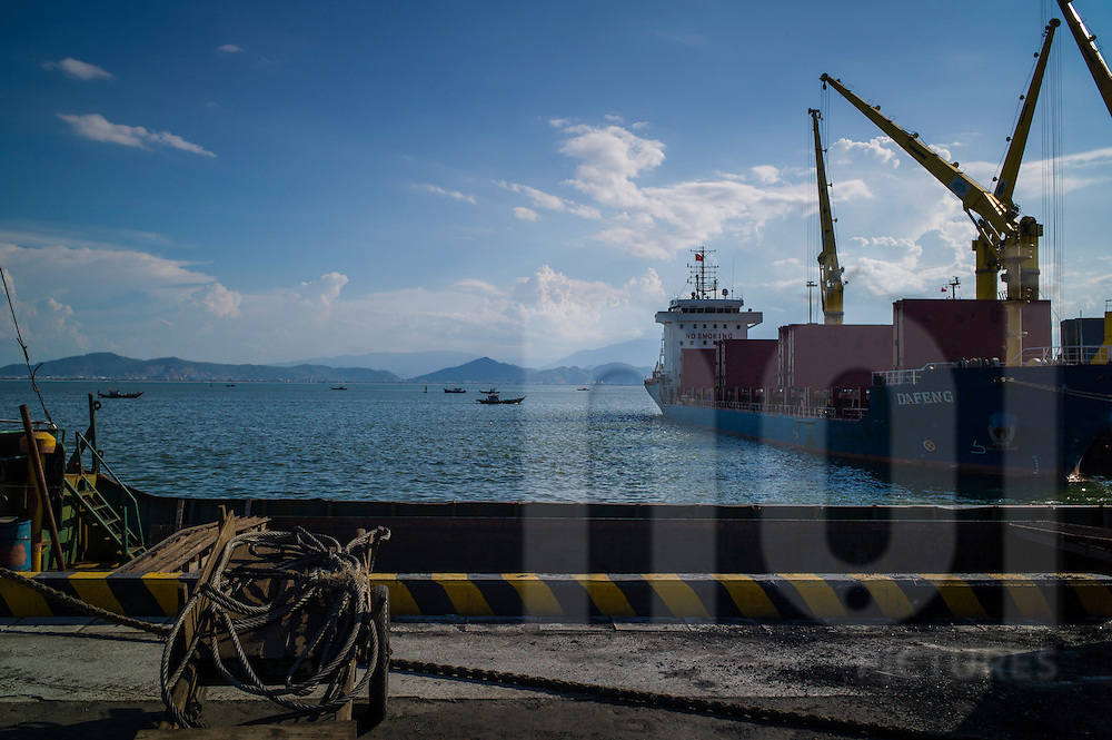Da Nang harbor, Vietnam, Southeast Asia