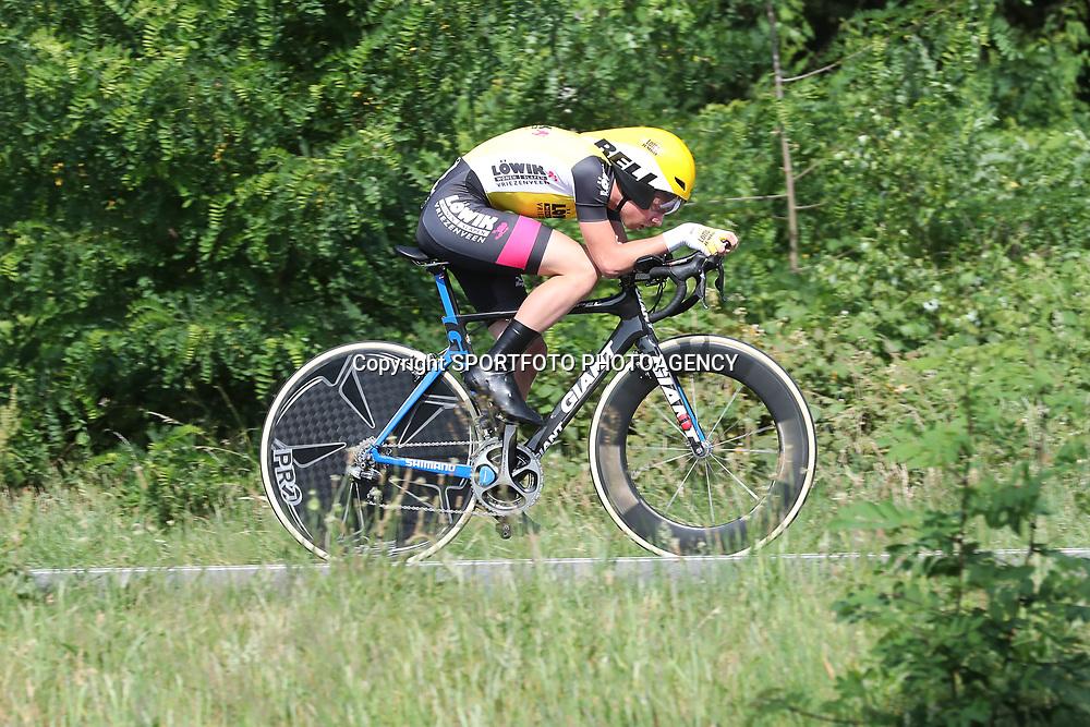 21-06-2017: Wielrennen: NK Tijdrijden: Montferlands-Heerenberg (NED) wielrennen  <br />Lars Boven werd vierde op de tijrit