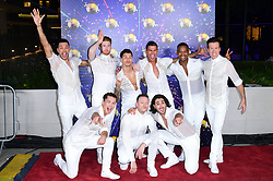 The Male Professionals arriving at the red carpet launch of Strictly Come Dancing 2019, held at BBC TV Centre in London, UK.
