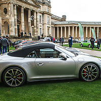 Porsche 911 Cabriolet at Rennsport Collective at Stowe House, Buckinghamshire, UK, on 1 November 2020
