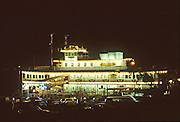 Historic Floating Restaurant Rueben E Lee In Newport Beach California