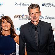 NLD/Hilversum/20190902 - Voetballer van het jaar gala 2019, Wim Jonk en partner Gina van Vlaanderen
