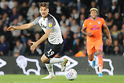 Derby County forward Chris Martin on the ball during the EFL Sky Bet Championship match between Derby County and Cardiff City at the Pride Park, Derby, England on 13 September 2019.