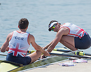 Caversham, Nr Reading, Berkshire.<br /> <br /> right Stewart INNES, Olympic Rowing Team Announcement morning training before the Press conference at the RRM. Henley.<br /> <br /> Thursday  09.06.2016<br /> <br /> [Mandatory Credit: Peter SPURRIER/Intersport Images] 09.06.2016,