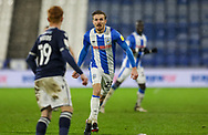 Huddersfield Town forward Danny Ward (25)  during the EFL Sky Bet Championship match between Huddersfield Town and Millwall at the John Smiths Stadium, Huddersfield, England on 20 January 2021.