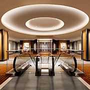 Photographs of Howard S. Wright Construction Remodel of the Grand Hyatt in San Francisco, CA Retail Infrastructure- Architectural Photography Example of Chip Allen's work.