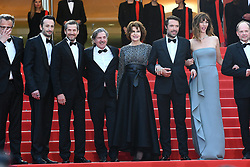 Daniel Auteuil, Fanny Ardant, Nicolas Bedos, Guillaume Canet, Denis Podalydes, Doria Tillier and Michael Cohen attend the screening of 'La Belle Epoque' during the 72nd annual Cannes Film Festival in Cannes. 21 May 2019 Pictured: Daniel Auteuil, Fanny Ardant, Nicolas Bedos, Guillaume Canet, Denis Podalydes, Doria Tillier and Michael Cohen attend the screening of 'La Belle Epoque' during the 72nd annual Cannes Film Festival in Cannes, France, on May 20, 2019. Photo credit: Favier/ELIOTPRESS / MEGA TheMegaAgency.com +1 888 505 6342