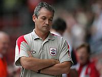 Photo: Lee Earle.<br /> Southampton v West Bromwich Albion. Coca Cola Championship. 12/08/2006. Saints manager, George Burley.