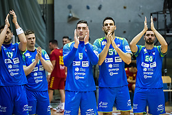 during friendly handball match between national teams Slovenia and Montenegro on 4th Januar, 2020, Trbovlje, Slovenia. Photo By Grega Valancic / Sportida