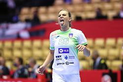 HERNING, DENMARK - DECEMBER 6: Barbara Lazovic during the EHF Euro 2020 Group A match between Slovenia and France in Jyske Bank Boxen, Herning, Denmark on December 6, 2020. Photo Credit: Allan Jensen/EVENTMEDIA.