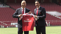 FILE - Unai Emery - 28 May 2018