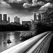 """Central Park is an urban park in middle-upper Manhattan, within New York City. Central Park is the most visited urban park in the United States, with 40 million visitors in 2013. It is also one of the most filmed locations in the world.<br /> <br /> The Park was established in 1857 on 778 acres (315 ha) of city-owned land. In 1858, Frederick Law Olmsted and Calvert Vaux, a landscape architect and an architect, respectively, won a design competition to improve and expand the park with a plan they titled the """"Greensward Plan"""". Construction began the same year and the park's first area was opened to the public in the winter of 1858. Construction continued during the American Civil War farther south, and was expanded to its current size of 843 acres (341 ha) in 1873.<br /> <br /> Central Park was designated a National Historic Landmark (listed by the U.S. Department of the Interior and administered by the National Park Service) in 1962. The Park was managed for decades by the New York City Department of Parks and Recreation, and is currently managed by the Central Park Conservancy under contract with the municipal government in a public-private partnership. The Conservancy is a non-profit organization that contributes 75 percent of Central Park's $65 million annual budget and is responsible for all basic care of the 843-acre park."""