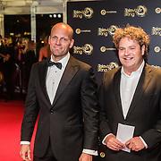 NLD/Amsterdam/20161013 - Televiziergala 2016, Jens Oldenkalter en Dirk Zeelenberg