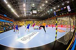 Arena Zlatorog during handball match between RK Celje Pivovarna Lasko and HC Meshkov Brest in Group Phase A+B of VELUX EHF Champions League, on October 14, 2017 in Arena Zlatrog, Celje, Slovenia.  Photo by Ziga Zupan / Sportida