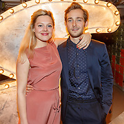 NLD/Amsterdam/20151119 - Esquire Best Geklede man 2015, genomneerde Matthijs van de Sande Bakhuyzen en partner Tine Tartuywets