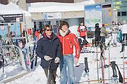 MARIO SCARPELLA; ALESSANDRO CARMINARTI MOLINA, Children and Adult ski race in aid of the Knights of Malta,  Furtschellas. St. Moritz, Switzerland. 23 January 2009 *** Local Caption *** -DO NOT ARCHIVE-© Copyright Photograph by Dafydd Jones. 248 Clapham Rd. London SW9 0PZ. Tel 0207 820 0771. www.dafjones.com.<br /> MARIO SCARPELLA; ALESSANDRO CARMINARTI MOLINA, Children and Adult ski race in aid of the Knights of Malta,  Furtschellas. St. Moritz, Switzerland. 23 January 2009