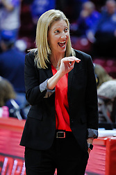 NORMAL, IL - January 06: Kristen Gillespie during a college women's basketball game between the ISU Redbirds and the Drake Bulldogs on January 06 2019 at Redbird Arena in Normal, IL. (Photo by Alan Look)